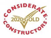 Considerate Constructors 2020 Gold Award Winner